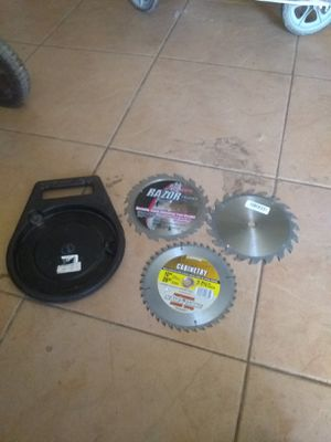 3 saw blades for Sale in Phoenix, AZ