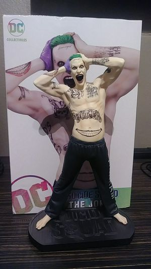 Joker Statue Suicide Squad for Sale in Las Vegas, NV