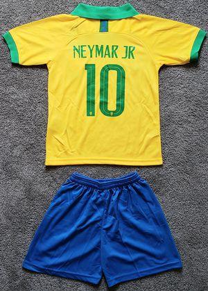 BRAZIL Brasil kid jersey set camiseta conjunto de niño for Sale in Brea, CA