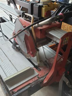 Rubi DC-250 1200 Rail Tile Wet Saw for Sale in Tampa,  FL