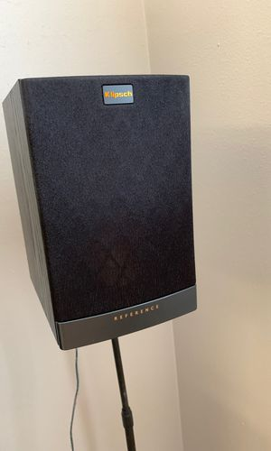 Klipsch Reference RB 10 with Sanus stands for Sale in Bloomington, IL