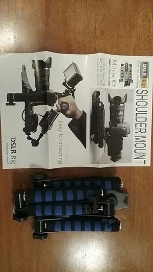 Brand New Morros DSLR Rig Shoulder Mount rig Stabilizer for DSLR Cameras & Camcorders. $35.00 for Sale in Springfield, MA