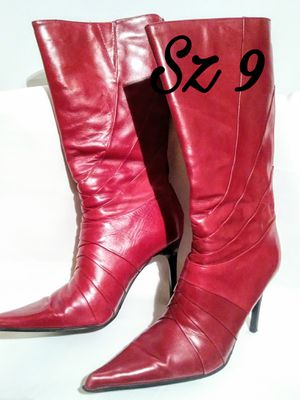Aldo Red Boots Sz 9 New for Sale in Atlanta, GA