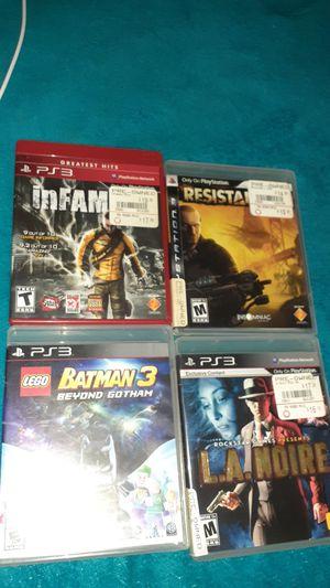 Batman 3 LA NOIRE. Infamous. Resistance 3 for Sale in Cerritos, CA