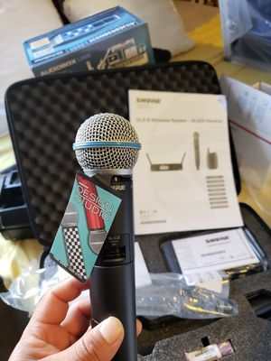 Shure wireless sm58 beta. $449 for Sale in Inglewood, CA