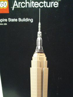 Lego Architecture Empire State Building New York USA 1767 Pieces for Sale in Ontario,  CA