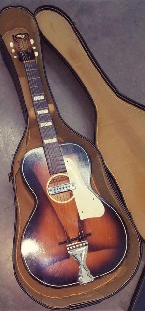 Antique Parlor Guitar - Acoustic Electric - Vintage B & J Serenader for Sale in Denver, CO