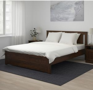 Ikea queen bed and mattress(negotiable) for Sale in Sunnyvale, CA