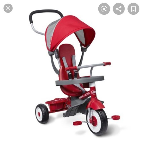 Radio Flyer 4 in 1 stroller/bike