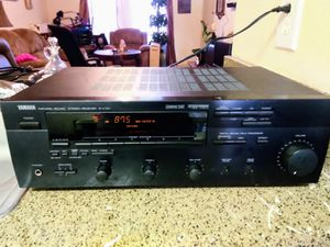 YAMAHA NATURAL SOUND STEREO RECEIVER R-V701 for Sale in Austin, TX