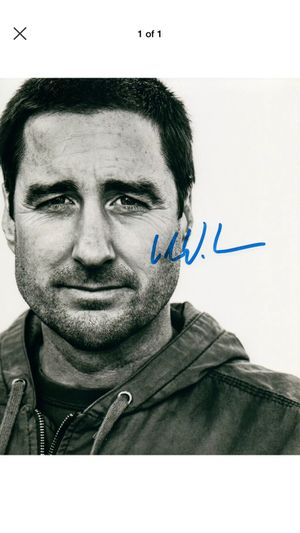 Actor Luke Wilson Autographed Photo for Sale in Farmville, VA