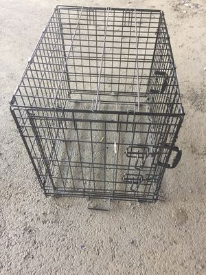 """DOG CAGE 24""""x19""""x17"""" DOUBLE DOOR (no tray) for Sale in Philadelphia, PA"""