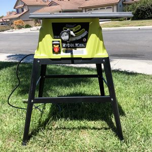 """Ryobi 10"""" table saw for Sale in Carlsbad, CA"""