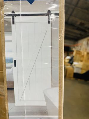 Renin complete barn door kit with soft close for Sale in Bloomington, CA