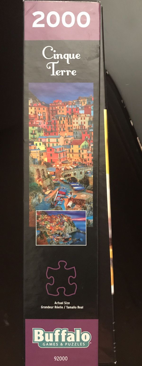 Buffalo Games - Cinque Terre, Italy - 2000 Piece Jigsaw Puzzle