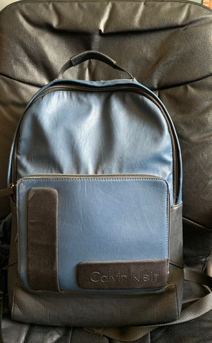 Leather Calvin Klein Backpack for Sale in Indian Rocks Beach, FL