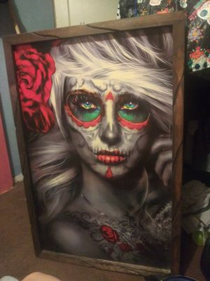 Wood framed print for Sale in San Jose, CA