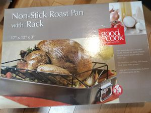 Good Cook non-stick roast pan with Rack for Sale in Portland, OR