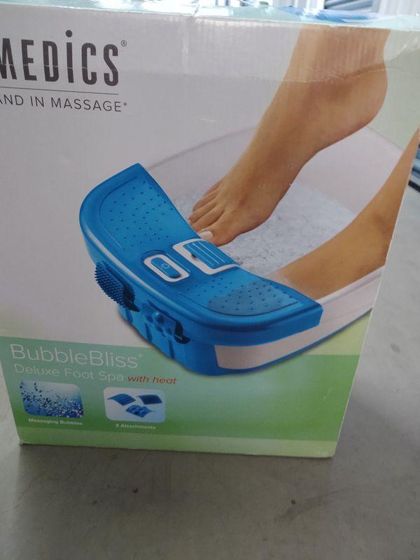 Homedics Bubble Bliss Foot Massager