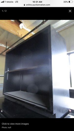 "Metal Bookshelf With 1-Adjustable Shelf, 35"" x 12"" x 29""H for Sale in Glendale, CA"