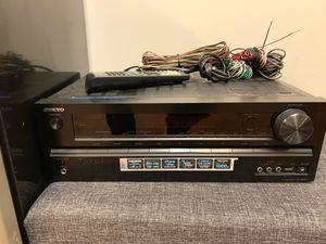 Onkyo Model HT-R590 Sound System for Sale in Detroit, MI