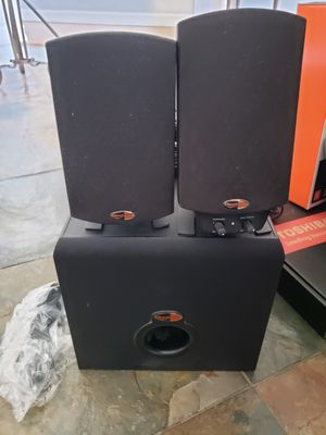 Klipsch computer speakers for Sale in Rancho Cucamonga, CA