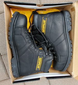 Caterpillar steel toe work boots for Sale in Bronx, NY