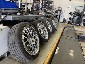 TSW Valencia Rims with Lexani Tires for Sale in San Diego, CA