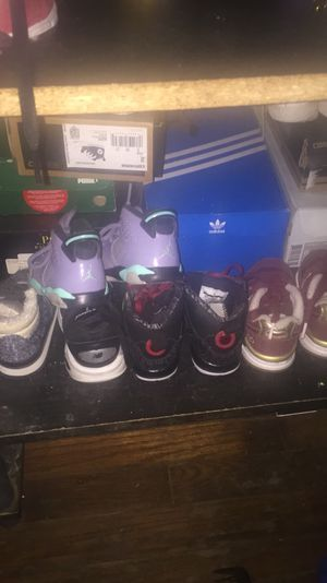 Kids shoes ; Jordan's , new balance, converse, Zara boots,polo boots etc for Sale in FAIRMOUNT HGT, MD