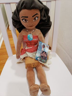 Moana plush doll with tags for Sale in Irvine, CA