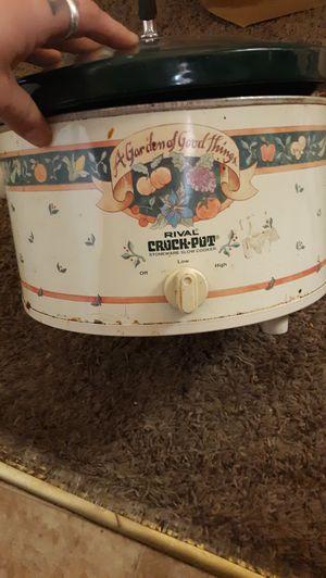 5 quart crock pot for Sale in Portland, OR