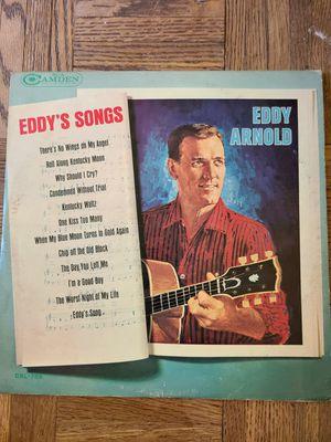 Eddy Arnold Eddys Songs Album for Sale in Anderson, SC