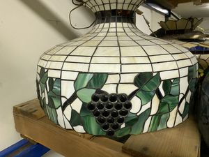 Antique Stained Glass Chandelier for Sale in Rancho Cucamonga, CA