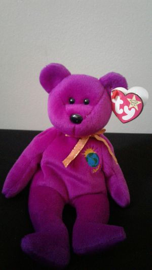 56198783b38 One of the rarer Beanie Babies version. Millennium series for Sale in East  Moriches