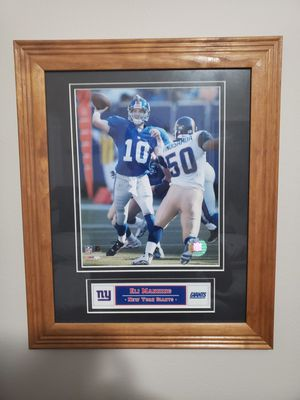 Eli Manning Giants Framed Photo for Sale in Boca Raton, FL