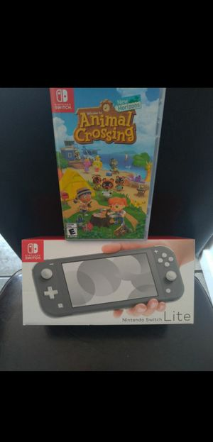Brand New Nintendo Switch Lite System / Console with Animal Crossing Game for Sale in Chula Vista, CA