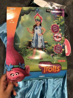 Trolls poppy Halloween costume NEW NEW for Sale in Fresno, CA