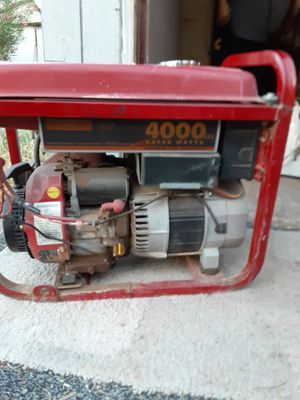 Generator 4000 for Sale in Las Vegas, NV