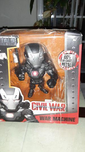 Metal die cast marvel civil war captain America war machine for Sale in Los Angeles, CA