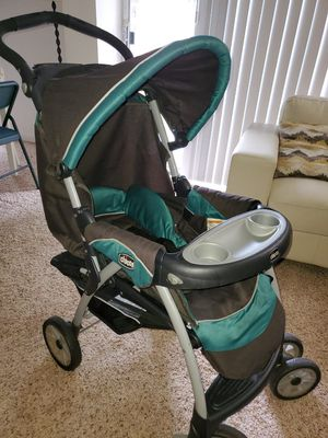 Chicco Cortina Stroller Keyfit 30 car seat compatible for Sale in Newark, DE