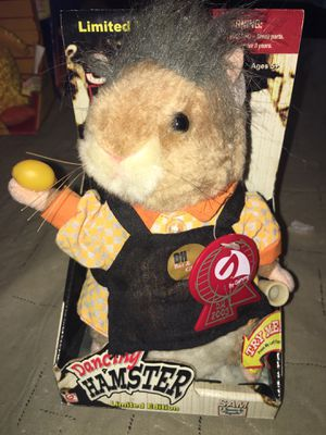 Gemmy Limited Edition Sam Dancing Hamster Tequila Oh Bar And Grill Toy Figure for Sale in Rochester Hills, MI