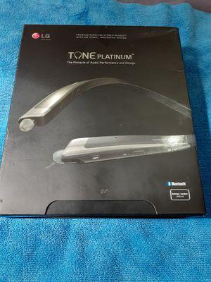 LG Tone Platinum Bluetooth headphones new in box for Sale in Miami Beach, FL