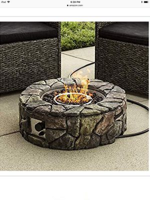 Outdoor fire pit propane fed for Sale in Lebanon, IN