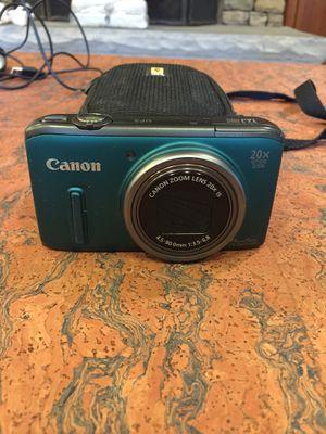 Canon camera blue for Sale in Atlanta, GA