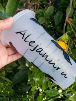 Butterfly Starbucks Cup With Custom Name for Sale in Carson,  CA