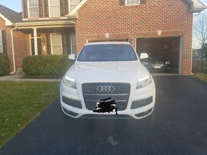 2013 Audi Q7 3.0T quattro tiptronic S line Prestiq-Serious Inquires only! Premium Fuel. Price is negotiable. for Sale in Frederick, MD