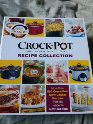 Crock-Pot cookbook for Sale in Port Richey, FL