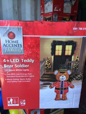 Christmas light up bear for Sale in Bolingbrook, IL