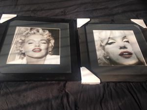 Marlyn Monroe pics both for 30 or 15 each for Sale in Modesto, CA