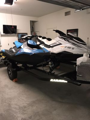 2019 Yamaha fx cruiser Jet Ski and a double trailer for Sale in Antioch, CA